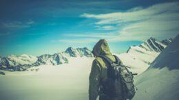 Friluftsliv vandring i bjergene